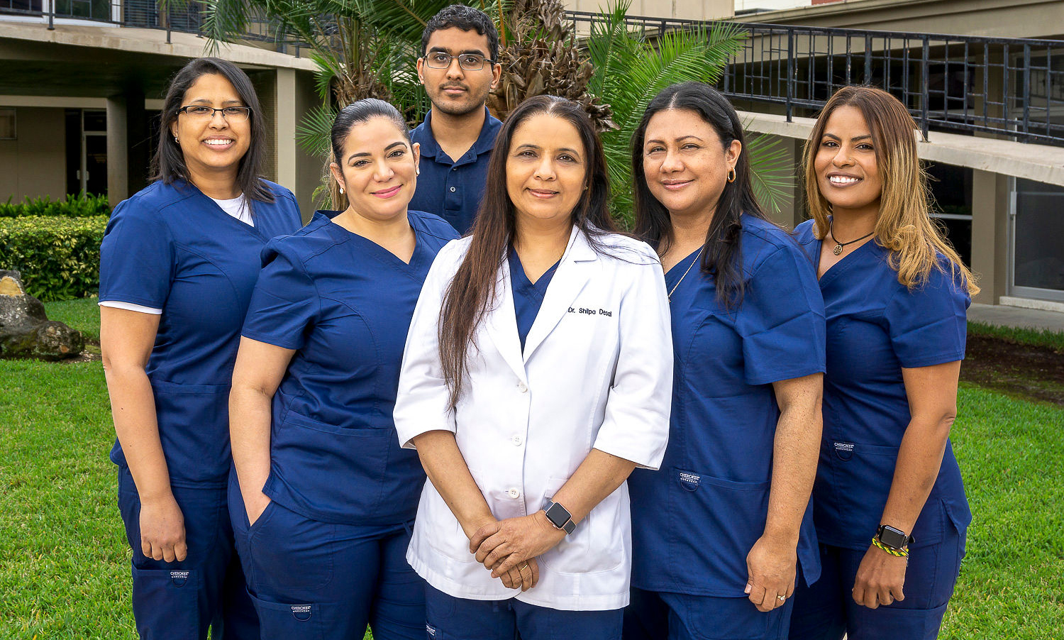 Desai dental team