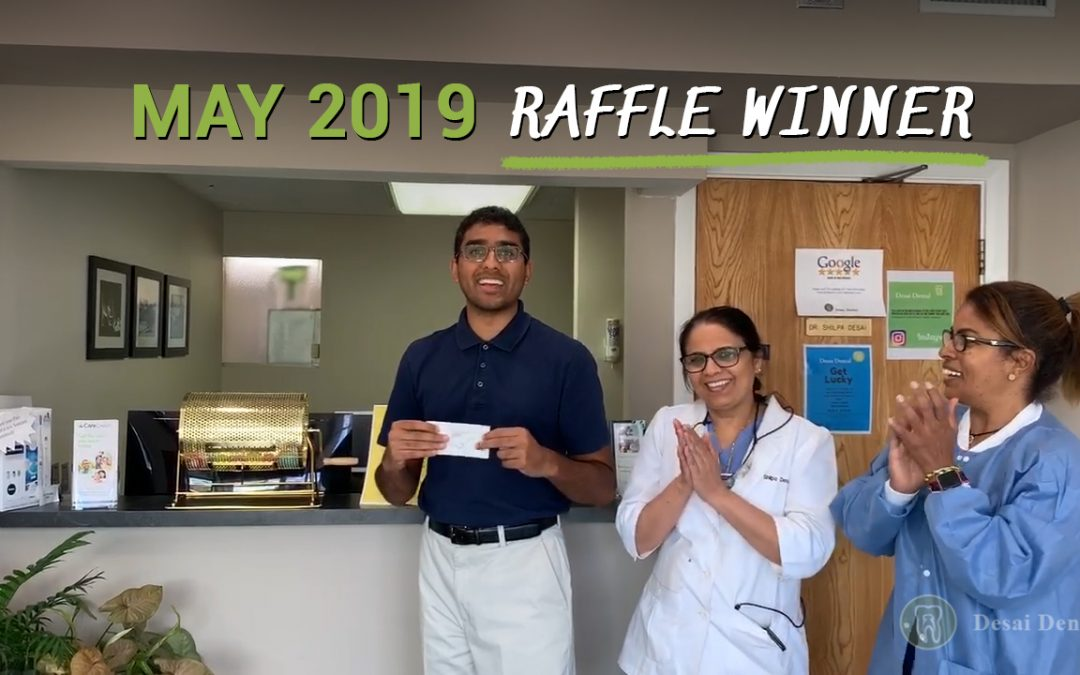 May 2019 Raffle Winner